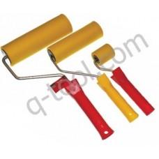 Валик обойный резиновый с ручкой 35х50х6 Quality Tool