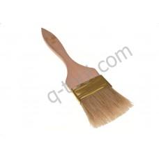 Кисть плоская флейцевая тонкая 20 мм Quality Tool Украина