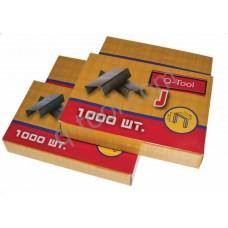 Скобы твёрдые к степлеру 10 мм  (1000 шт.)