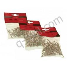 Заклепки алюминиевые 3,2x10мм, упаковка 50 шт Quality Tool