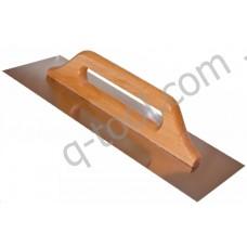 Полутер Quality Tool нержавеющая сталь 280х130 мм (Польша)